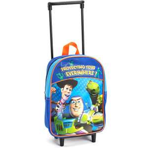 Disney Toy Story 12 Rolling Backpack Luggage