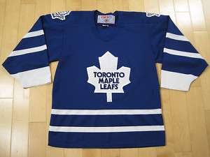 90s vtg TORONTO MAPLE LEAFS JERSEY shirt NHL hockey SMALL