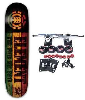 ELEMENT SKATEBOARDS RASTA BRANDED Complete Skateboard