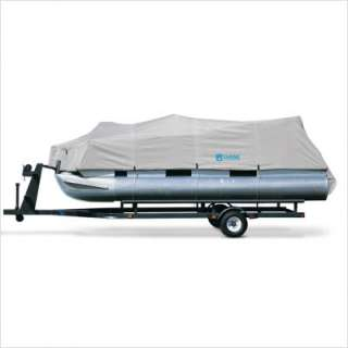 Classic Accessories Hurricane Pontoon Boat Cover Model B in Grey