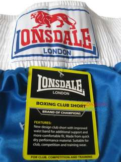 Lonsdale London Royal Blue Boxing Training Shorts