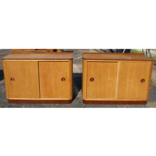 vintage two tone cabinet two tone wood construction two sliding doors