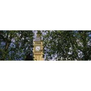 Big Ben Clock Tower, London, England by Panoramic Images