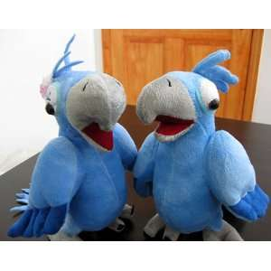 de Janiero Male & Female Pair Couple Set Plush Bird Doll Toys & Games