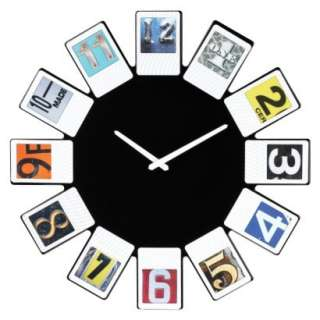 Home® Magnetic Photo Frame Wall Clock.Opens in a new window