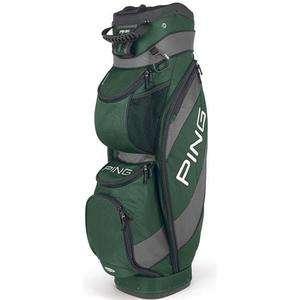 2012 Ping TRAVERSE Dark GREEN/CHARCOAL Golf 14 Way CART Bag