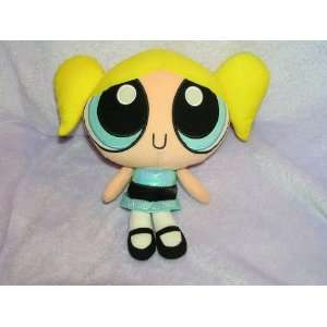 The Powerpuff Girls Plush 10 Bubbles Doll by Trendmasters