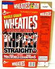 1993 wheaties box chicago bulls nba world champions