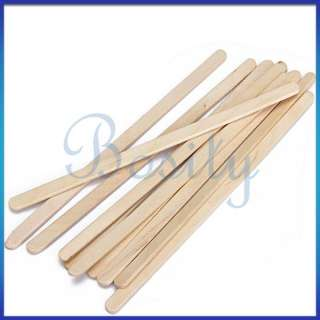 10pcs Wooden Wood Coffee Stirrers Sticks Milk Shaker Bar 5.5 inch / 0