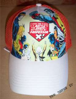 BRAND NEW RARE NEW ERA XMEN XMAN CAP HAT RETRO MARVEL