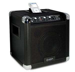 Audio Tailgater Portable PA SPEAKER SYSTEM iPod Microphone AM FM RADIO