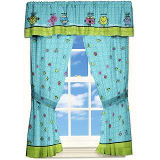 Mr Men Little Miss Funny Pages Drapes Kids & Teen Rooms