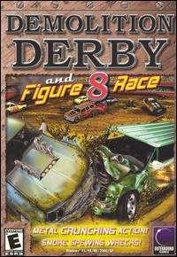 Demoliion Derby & Figure 8 Race PC CD car smashem up arena