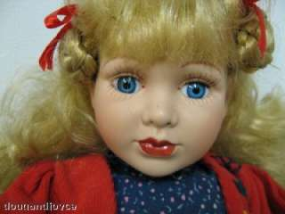 Older DUCK HOUSE Porcelain Doll GRETAL LtdEd 0525/5000