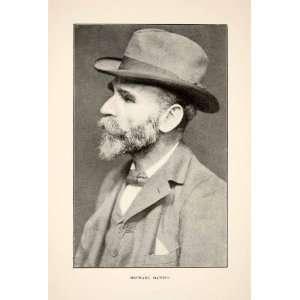 1905 Print Michael Davitt Mac Daibheid Irish Republican Brotherhood