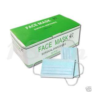 50pcs High Quality Health Spa Face Mask Disposable in