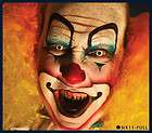 Art Nixs Collection EVIL CLOWN Halloween Airbrush Face Stencil