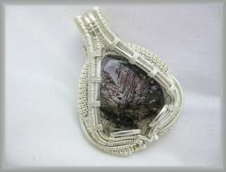Super Seven Crystal, Silver Wire Wrap Jewelry