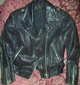 Hein Gericke Harley Davidson Leather Riding Jacket Coat