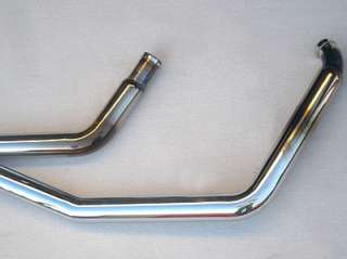 Harley Davidson FXSTS   White Bros Porkers Drag Exhaust