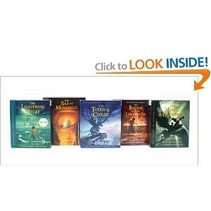 Percy Jackson and the Olympians books 1 5 CD Collection