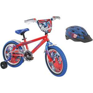 16 Boys BMX Bike & Helmet Value Bundle