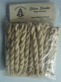 Shiva Shakti Rope Incense Medium