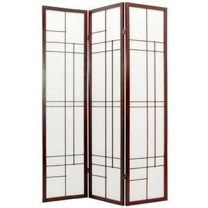 Oriental Furniture 72 Eudes Decorative Paned Room
