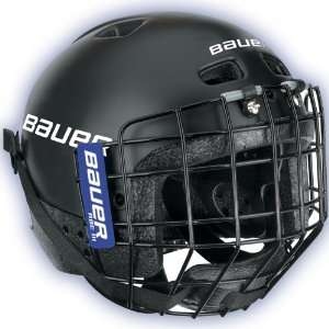 Bauer Techlite Youth Hockey Helmet w/Cage   2009 Sports