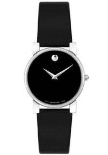 Movado Womens Moderna Steel Classic Strap Watch 0604231