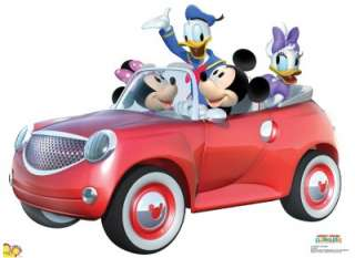 MICKEY MOUSE CLUBHOUSE CAR RIDE LIFESIZE CARDBOARD STANDUP CUTOUT