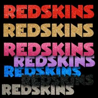 Redskins 8 Script 2 Color Auto Window Sticker Decals