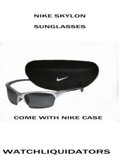 NEW NIKE SKYLON MENS SUNGLASS, DARK GREY POLARIZED LENS + BOX $60