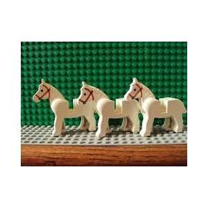 Lego White Horse Lot of 5 Horses: Everything Else