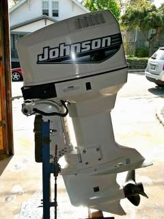 Johnson 90 hp outboard motor rebuilt water ready boat for Used 90 hp outboard motors