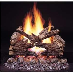 Monessen 36 Inch Massive Oak Vented Propane Gas Log Set