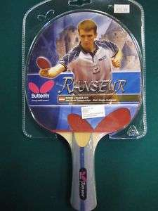 BUTTERFLY RANSEUR PING PONG PADDLE, TABLE TENNIS RACKET