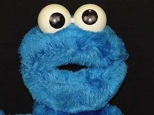 APPLAUSE SESAME STREET BLUE COOKIE MONSTER PLUSH STUFFED ANIMAL