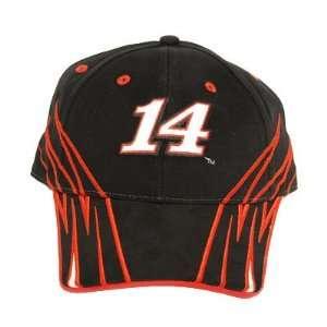STEWART # 14 BLACK COTTON CAP HAT NASCAR SPRINT