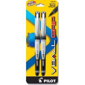 Pilot VBall Grip Liquid Ink Rolling Ball Pen, Extra Fine