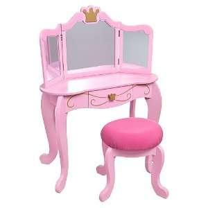 KidKraft Diva Vanity And Stool Set Pink