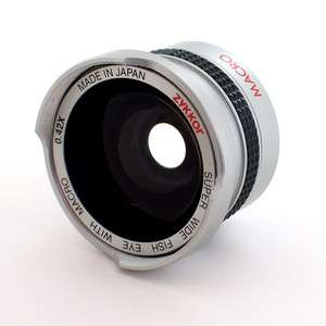Fish Eye FishEye Lens 37mm 0.42x for Sony Camcorder Camera Wide Angle