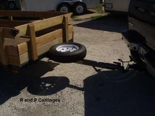 Trailer spare tire mount, U bolt style WITH LOCK