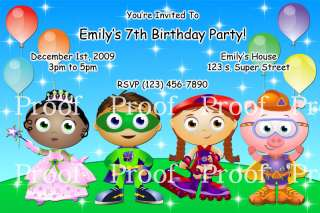 Superhero squad super hero birthday invitation super why birthday invitations digital file only filmwisefo