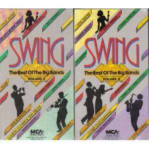 Swing; The Best of the Big Bands [2 VHS Video Set] Tommy