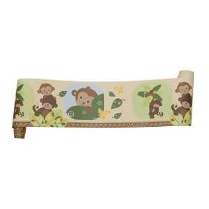 Bedtime Originals Curly Tails Wallpaper Border: Baby
